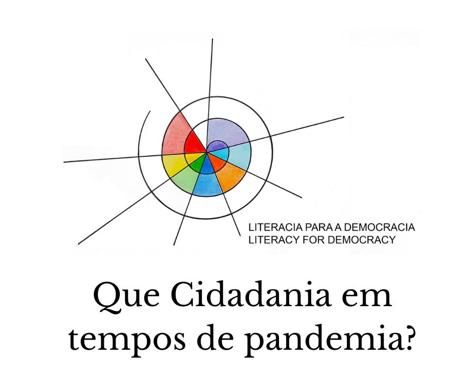 """Convite – Evento """"Que Cidadania em tempos de pandemia?"""""""